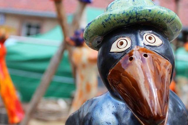 Der Kunsthandwerkermarkt in Oberried ist ein Besuchermagnet in der Region