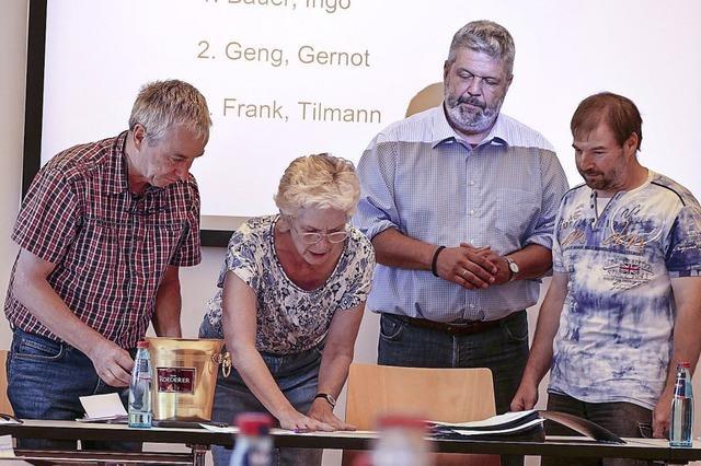 Drei, die künftig den Bürgermeister vertreten
