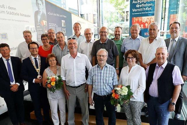 Zusammen 274 Jahre Einsatz im Offenburger Gemeinderat