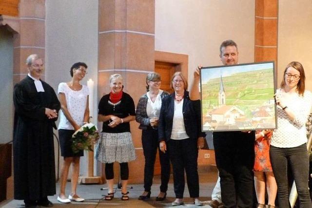 Großer Abschiedsgottesdienst für Pfarrer Boos
