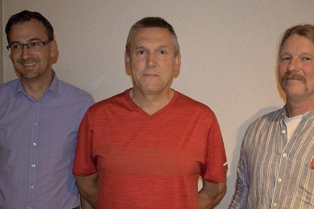 Drei vertreten Berger