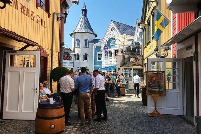 Der skandinavische Bereich im Europa-Park ist wieder offen
