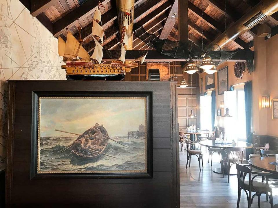 So sieht es jetzt in dem Fjord-Restaurant aus.  | Foto: Tamara Keller