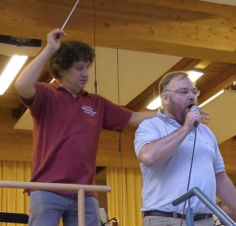 Sommernacht Konzert Winzerkapelle Köndringen  | Foto: Aribert Rüssel