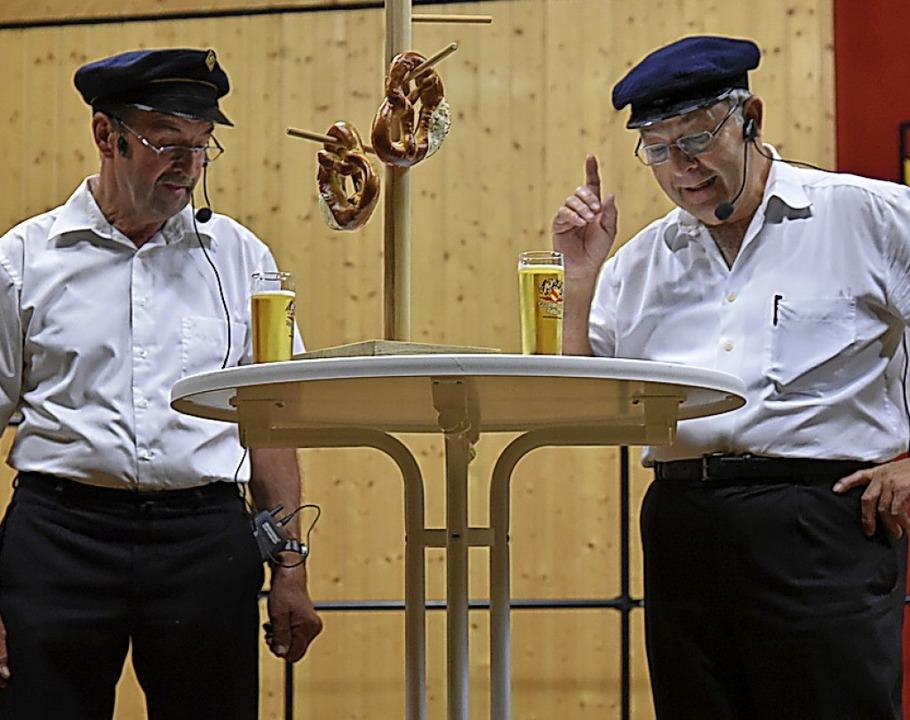 Ließen zum Abschluss die vergangenen 5...n: Werner Schillinger und Walter Kern.  | Foto: Benedikt Sommer