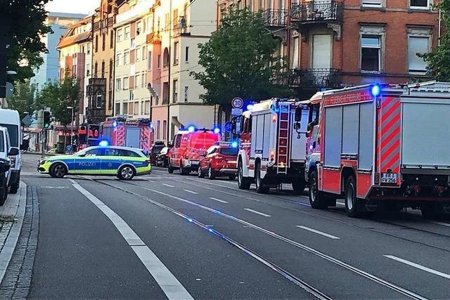 Habsburgerstraße wegen Feuerwehreinsatz gesperrt – Tram unterbrochen