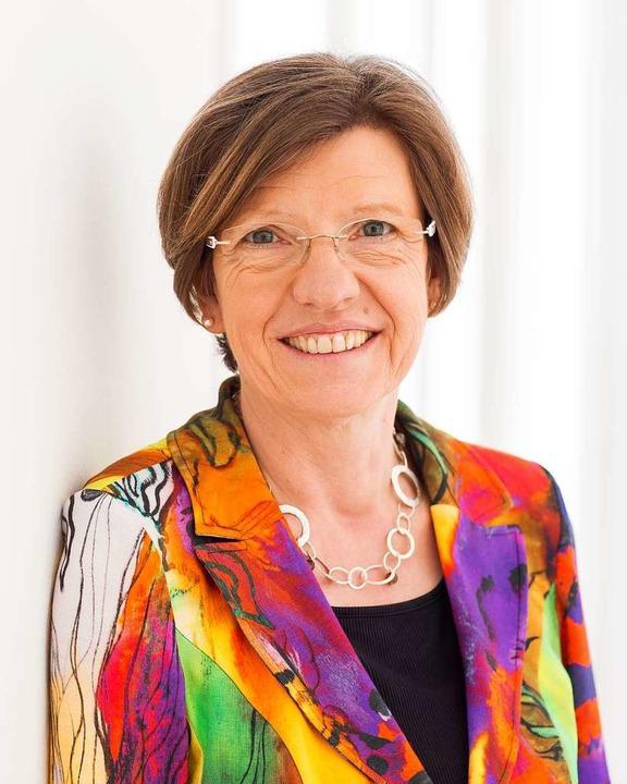 Umweltbürgermeisterin Gerda Stuchlik.    Foto: Stadt Freiburg