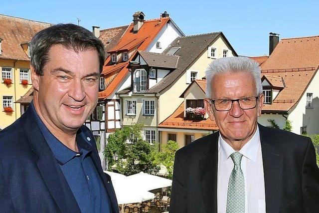 Gemeinsame Sitzung der Kabinette aus Bayern und Baden-Württemberg
