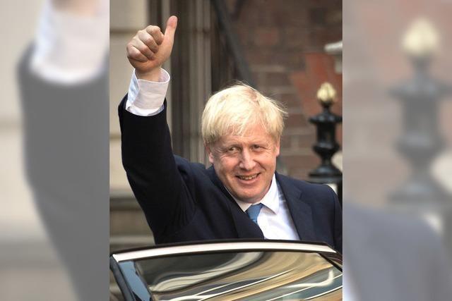 Johnson wird Premier