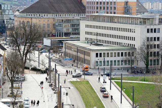 Der neu gestaltete Rotteckring wird Teil des Freiburger Weihnachtsmarktes