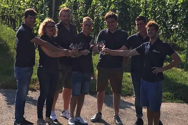 Am Wochenende gibt's ein Weinfest am Munzinger Berg