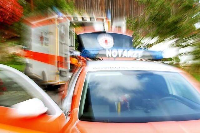 Verunglückte Radfahrerin mit Heli ins Spital