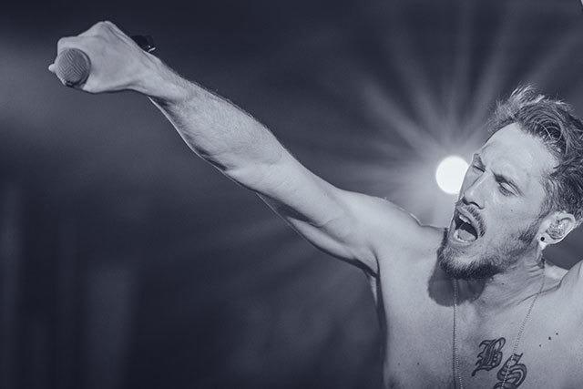 Fotos: GReeeN - Raggae-Rap beim ZMF im Spiegelzelt