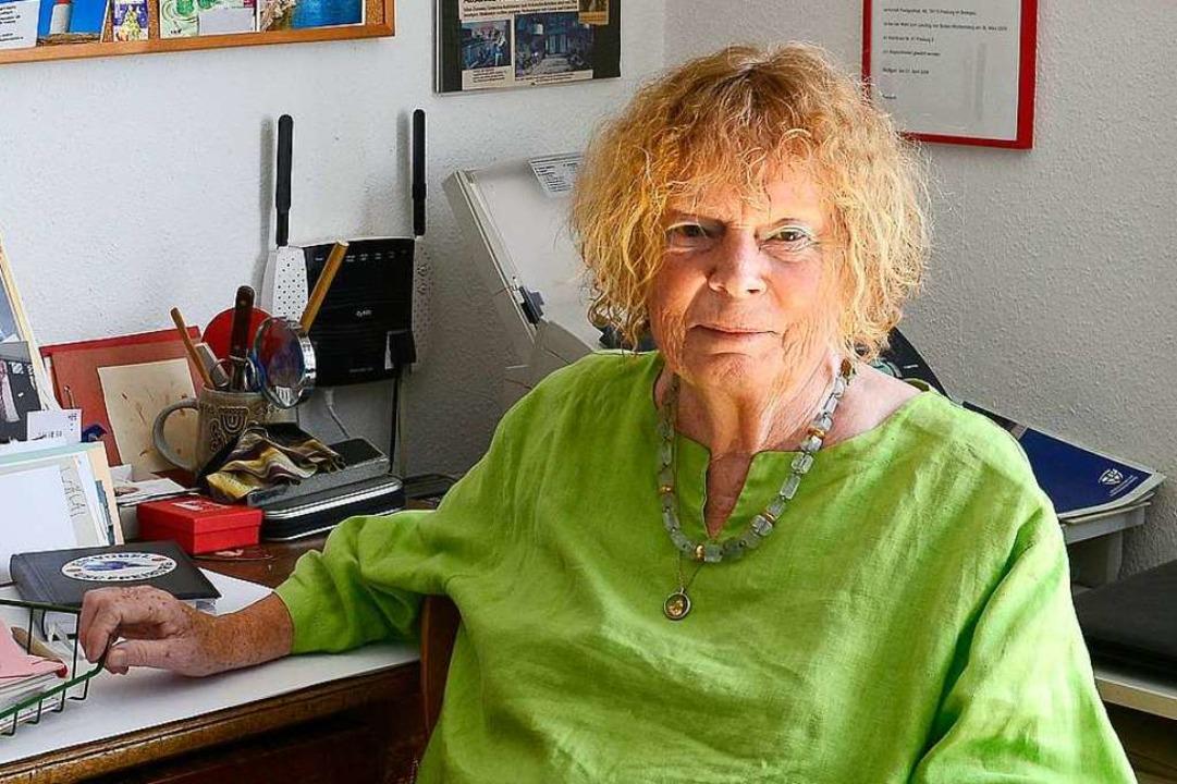 Kommt auf 39 Jahre im Gemeinderat: SPD-Rätin Margot Queitsch.  | Foto: Ingo Schneider