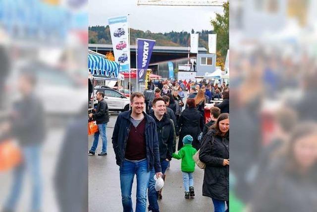Im Oktober findet die nächste Dreiland-Messe in Rheinfelden statt