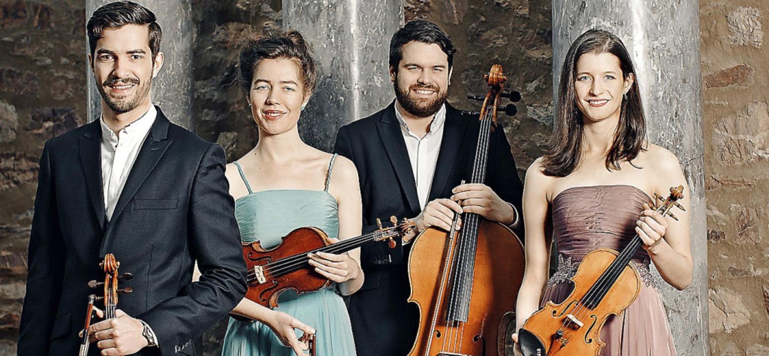 Spielt am 28. Juli in Staufen: das renommierte Aris-Quartett  | Foto: Simona Bednarek