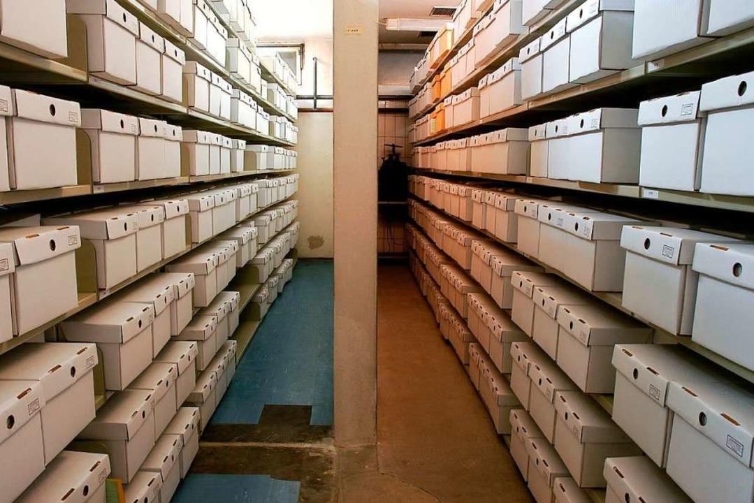 Im Archiv der Albert-Ludwigs-Universit... lagern tausende Schädel (Archivfoto).  | Foto: Thomas Kunz