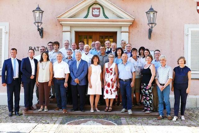 Der neue Breisacher Gemeinderat hat sich konstituiert
