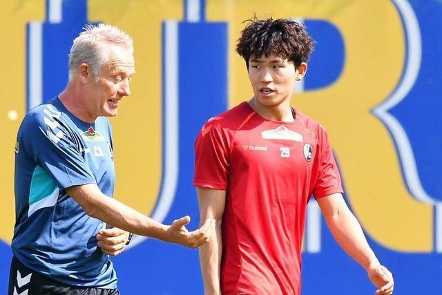 Jeong und Kwon fügen sich in Schruns gut ins Team des SC Freiburg ein