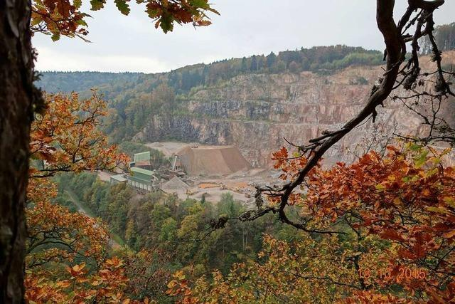 Regionalverband verzichtet auf südliche Abbaufläche im Steinbruch Tiefenstein