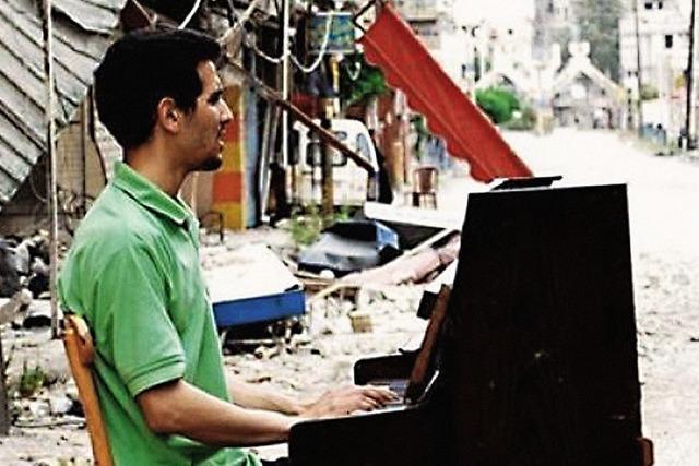 Aeham Ahmad und Friedlicher Drache
