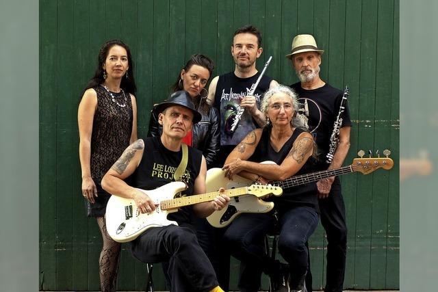 Die französische Band Manny