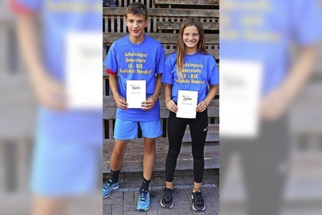 Junge Sportler knacken die Rekorde