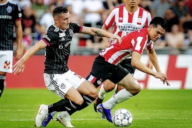 FC Basel schrammt am Sieg in Eindhoven vorbei