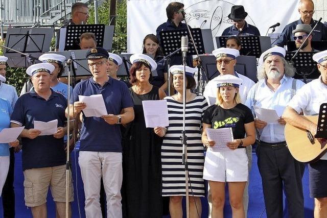 Vereinssingen zum 150. Geburtstag des MGV Rust
