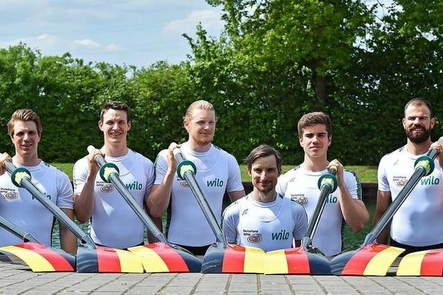 Der Ihringer Ruderer Jakob Schneider will bei Olympia 2020 starten