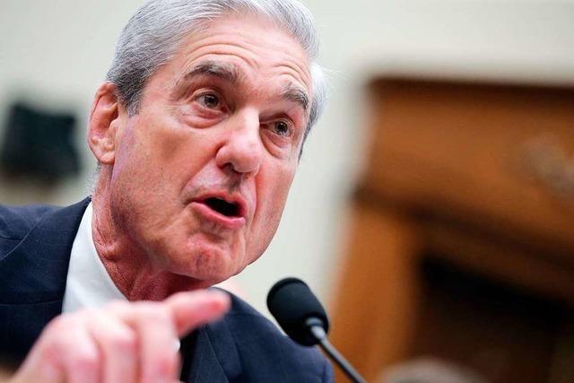 Mueller: Trump nicht vom Vorwurf der Justizbehinderung entlastet