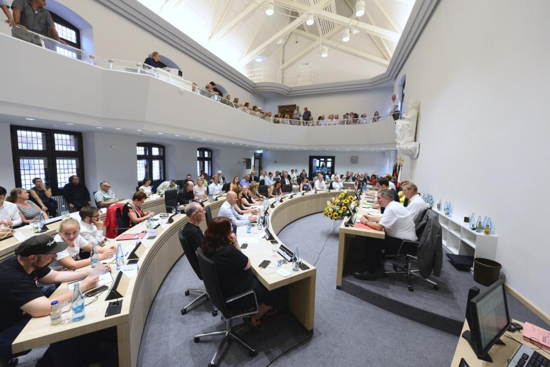Der neue Gemeinderat  | Foto: Ingo Schneider