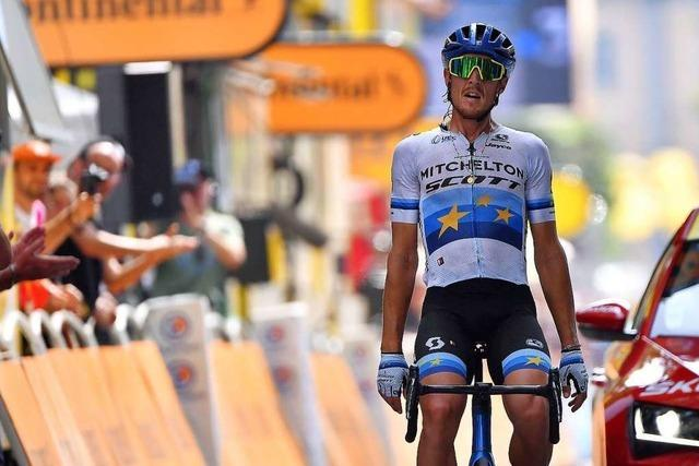 Der Italiener Matteo Trentin gewinnt die 17. Etappe
