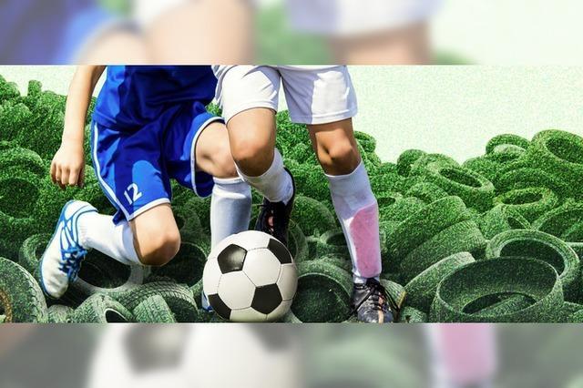 Umweltsünden auf dem Fußballplatz