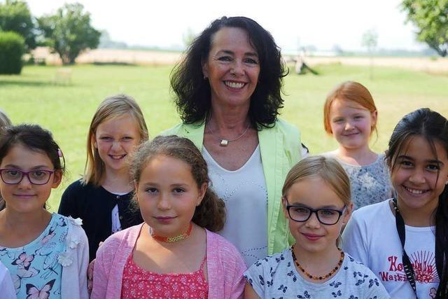 Karin Modlich geht als Rektorin der Alemannen-Grundschule in Mengen in den Ruhestand