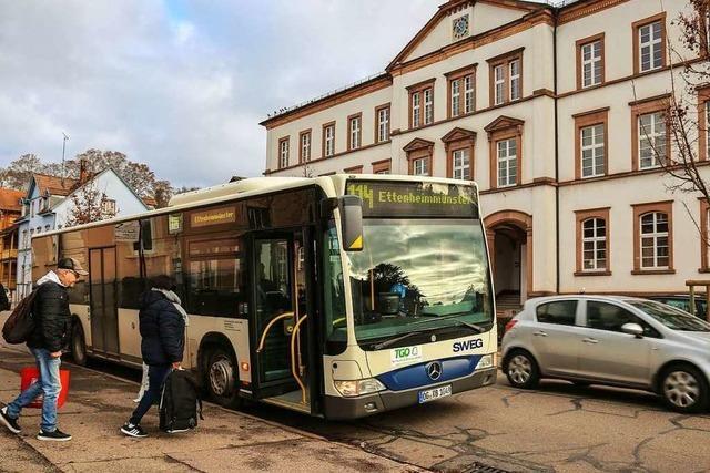 Der Stadtbus ist wenig nachgefragt