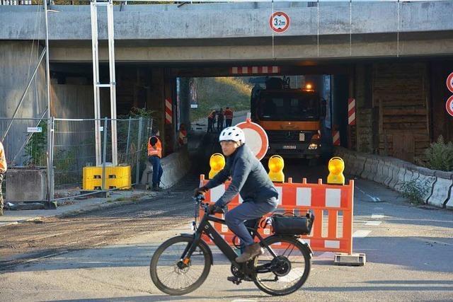 Die Unterführung in Haltingen wird fast 3 Millionen Euro teurer