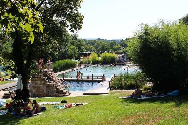 Urlaubsfeeling und Fete im Naturbad