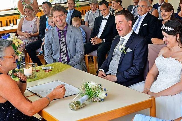 In allen Ortschaften Freiburgs kann man auf Standesämtern in ruhiger Atmosphäre heiraten