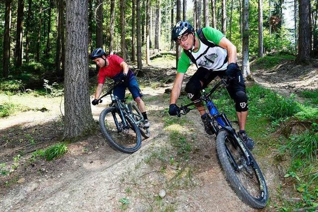 Mountainbiker in Freiburg bekommen eine neue Übungsstrecke