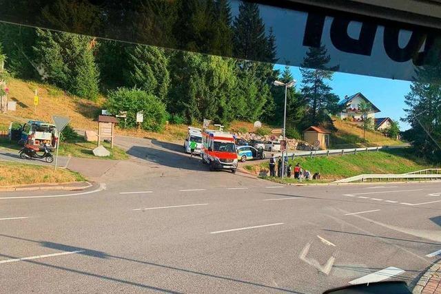 49-jähriger Motorroller-Fahrer stirbt in Feldberg-Altglashütten