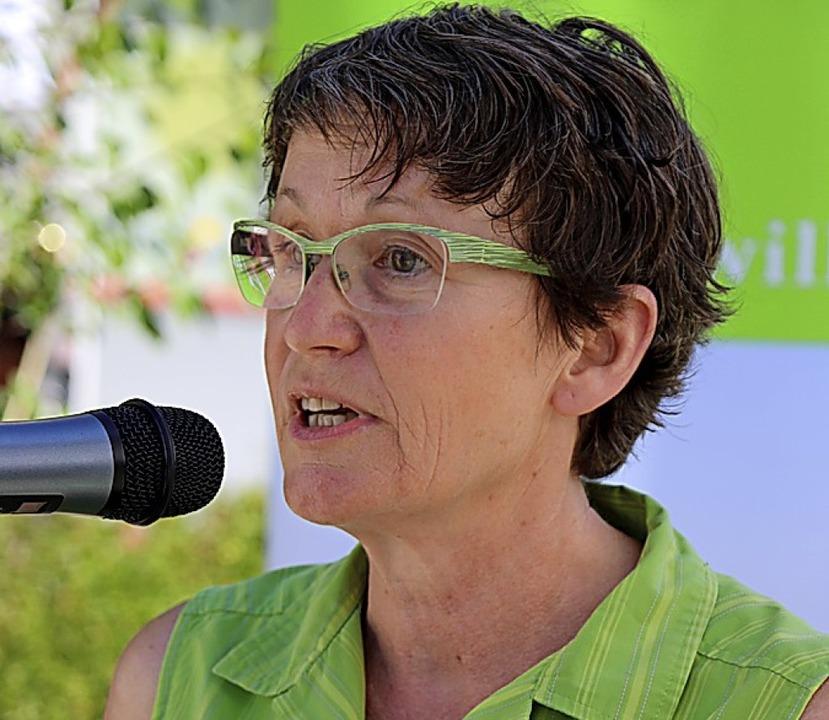 Jutta Schär kommt eine zentrale Rolle ...der Realschule als Naturparkschule zu.  | Foto: Martha Weishaar