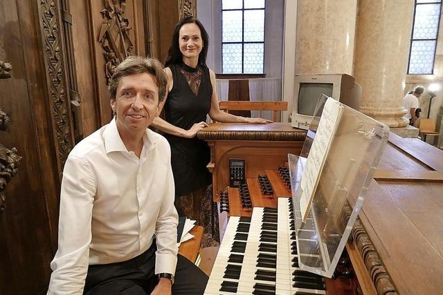 Gekonnt und fesselnd inszenierte vergeistigte Orgelwerke