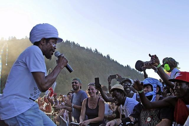 Tausende Reggaefans feiern am Waldsee