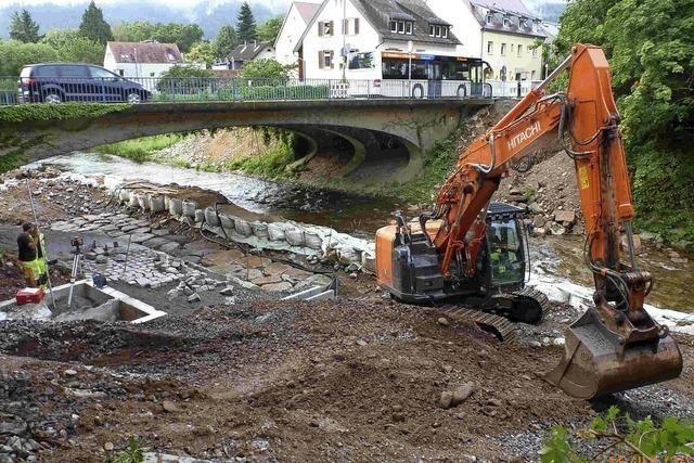 Regierungspräsidium investiert in eine neue Messtechnik für den Dreisam-Wasserstand