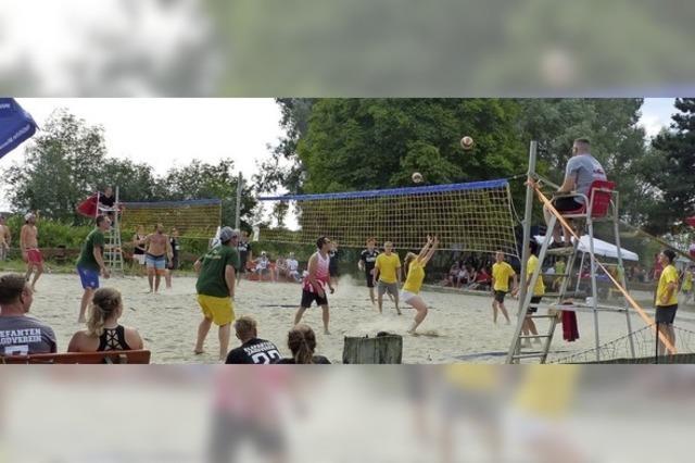 Volleyballturnier in Altenheim