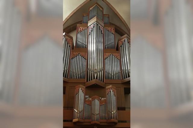 Initiator für den Bau der großen Orgel