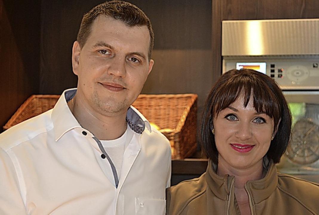 Das Betreiberpaar Peter Kessler und Teresa Fischetti aus Waiblingen.  | Foto: Liane Schilling