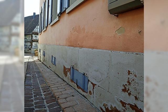 Rathausfassade soll saniert werden