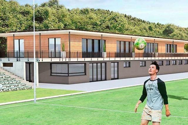 VfR Merzhausen stellt konkrete Pläne für das neue Vereinsheim vor